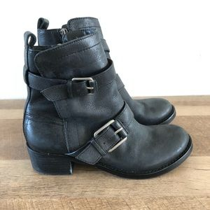 Lucky Brand Ankle Boots Moto Heeled